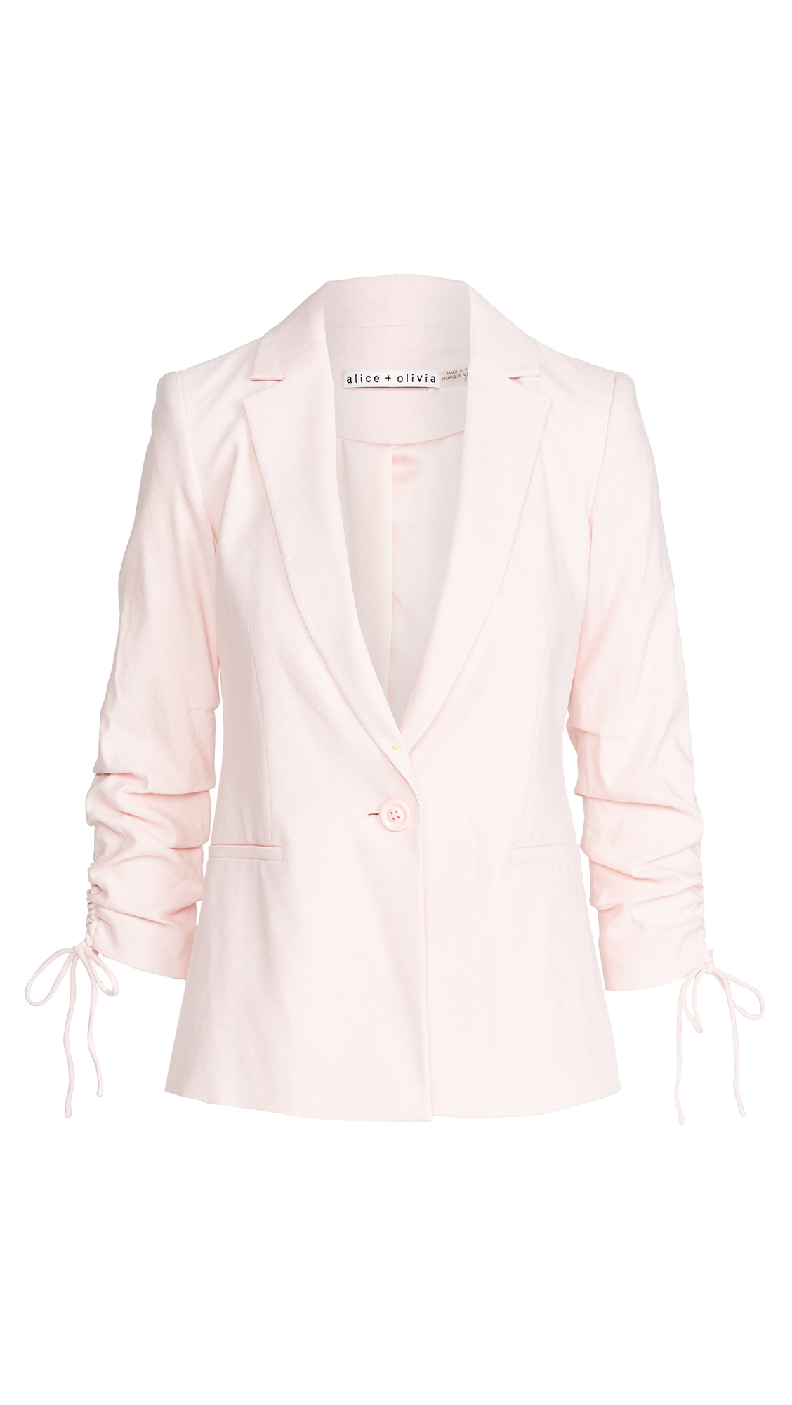alice + olivia Lester Notch Collar Blazer