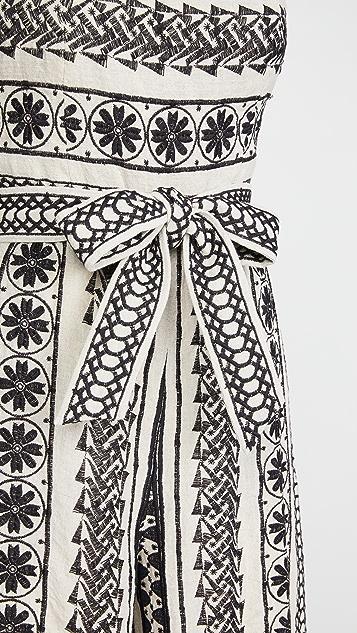 alice + olivia Lucie Gaucho 系腰带连身衣