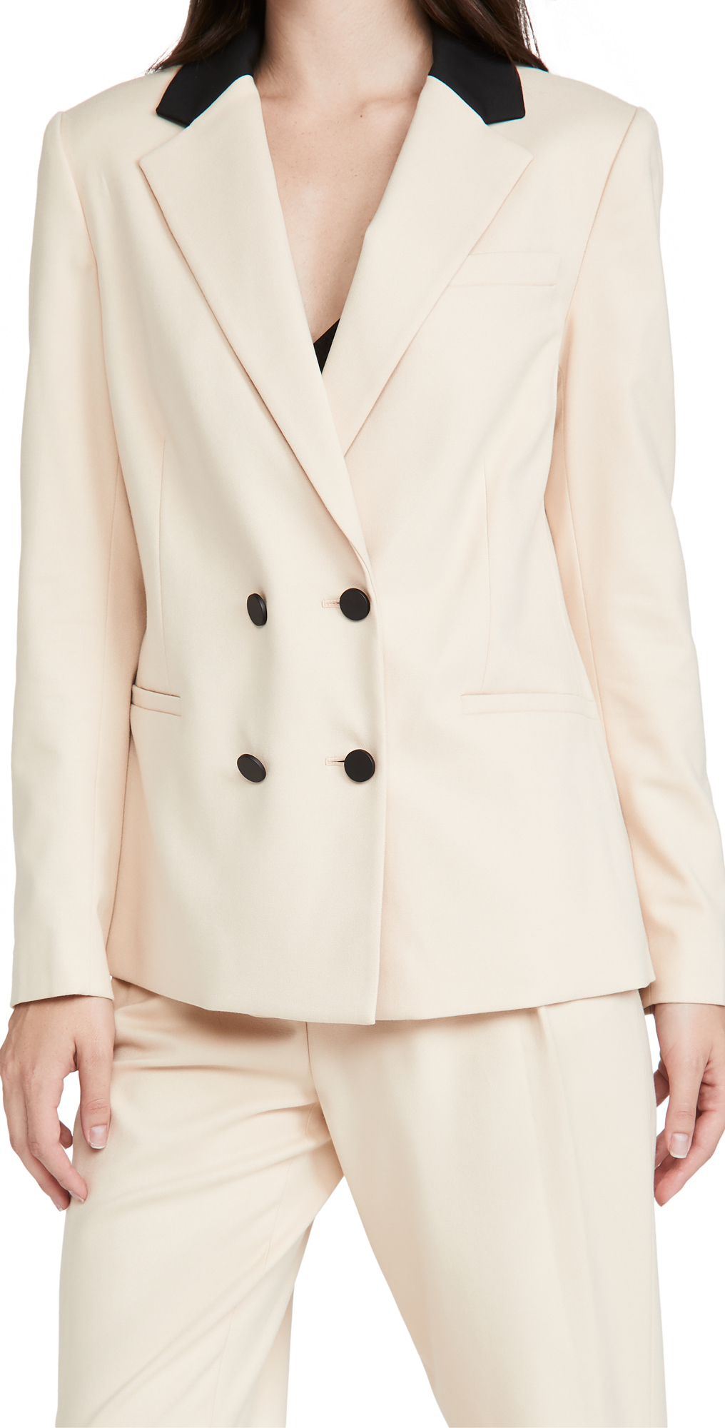 alice + olivia Bergen Double Breasted Loose Blazer