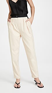 alice + olivia Roy Pleat Carrot Pants
