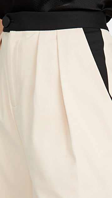 alice + olivia Roy 裥褶萝卜裤