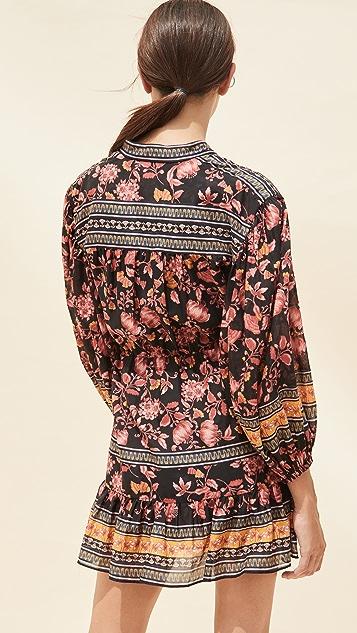 alice + olivia Sedona Mandarin Dress