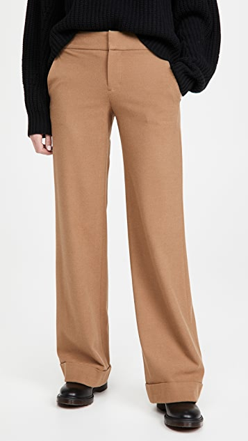 alice + olivia Dylan Cuff Pants