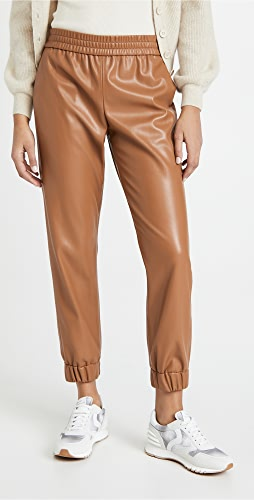 alice + olivia - Pete Vegan Leather Pants