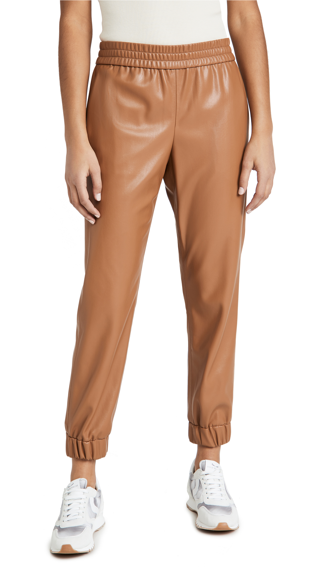 Alice And Olivia PETE VEGAN LEATHER PANTS