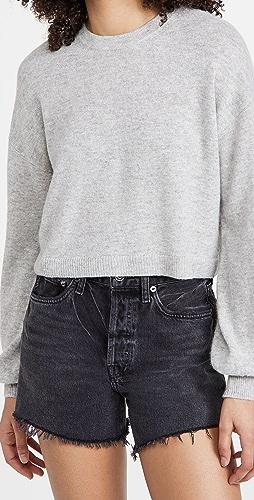 alice + olivia - Ansley 短款开司米羊绒套头衫