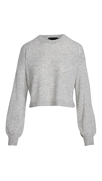 alice + olivia Ansley Cropped Cashmere Pullover