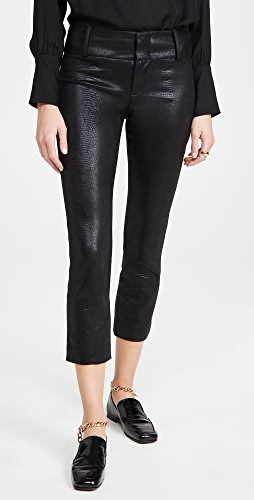 alice + olivia - Stacey Vegan Leather Slim Pants