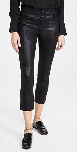 alice + olivia - Stacey 仿皮修身裤