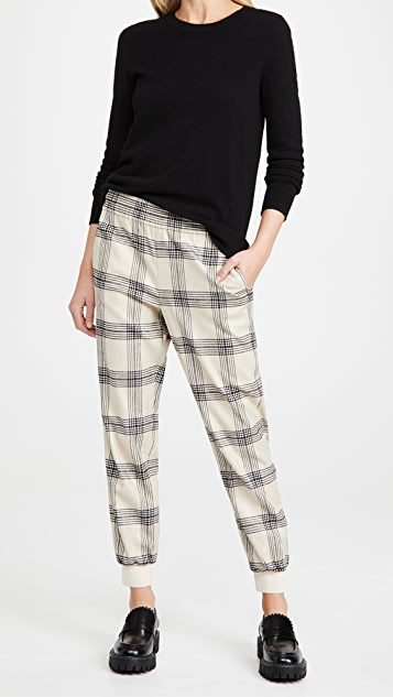 alice + olivia Pete Low Rise Pull Up Pants
