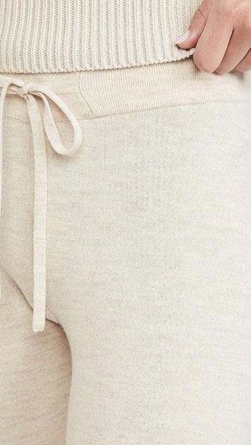 alice + olivia Aspen 针织慢跑长裤