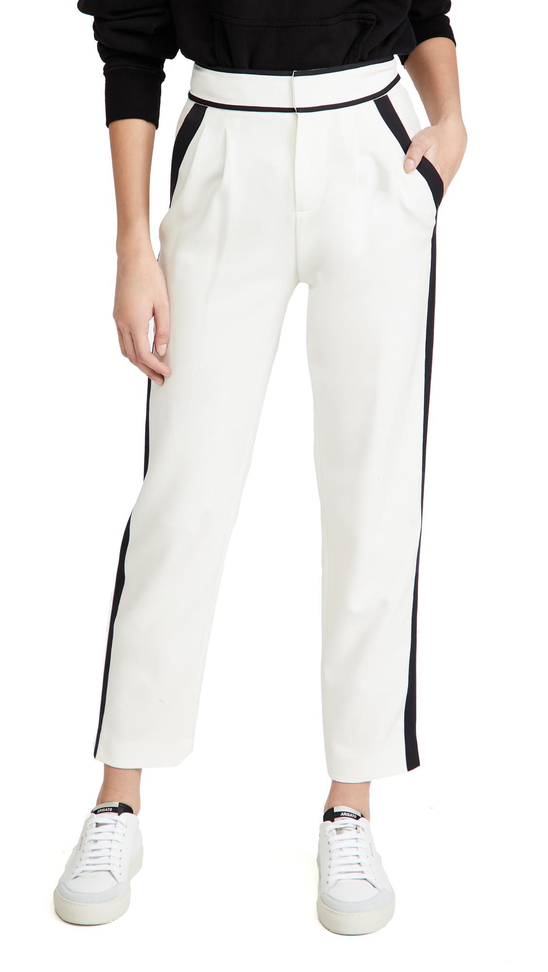 alice + olivia Esta Seamed Pleat Pants