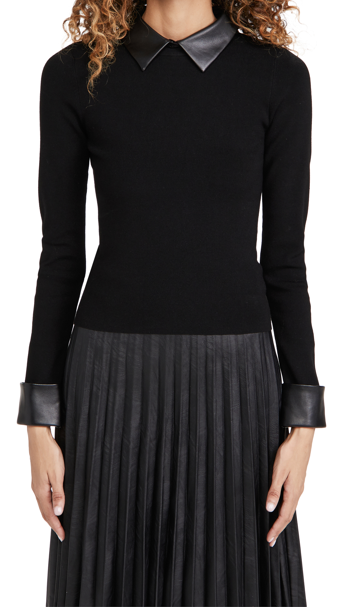 alice + olivia Dory Fitted Pullover