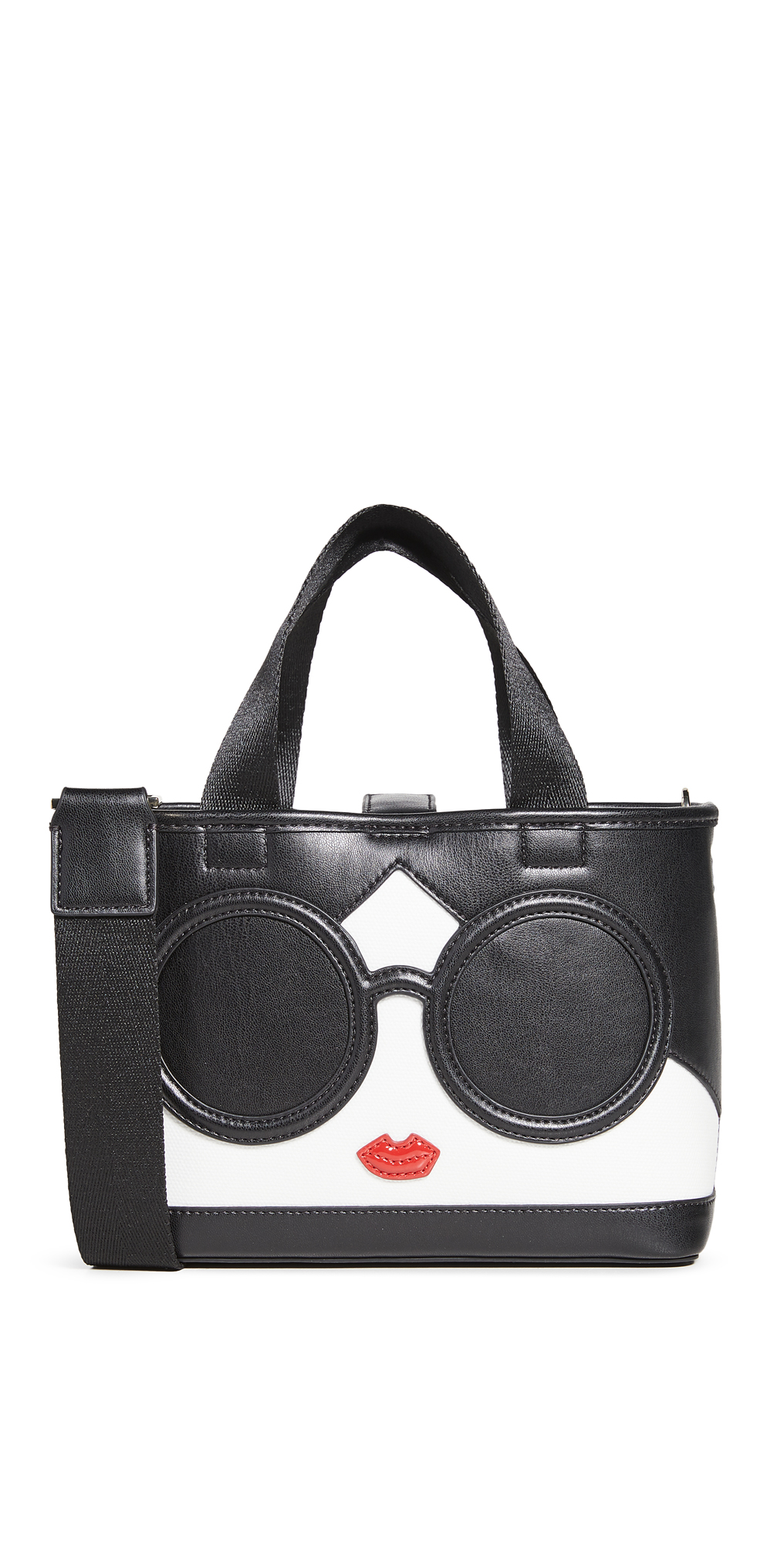 alice + olivia Ashley Mini Stacey Face Crossbody Tote