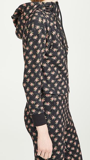 alice + olivia Quinlan 半长拉链系扣短款连帽上衣