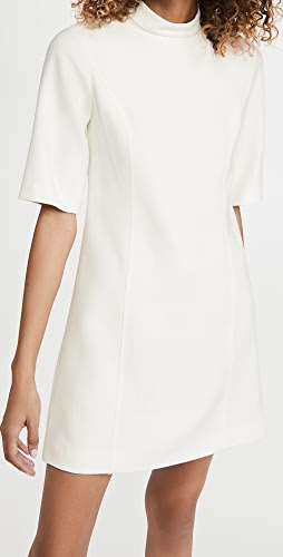 alice + olivia - Coley 半高领 A 字形连衣裙