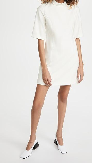 alice + olivia Coley 半高领 A 字形连衣裙