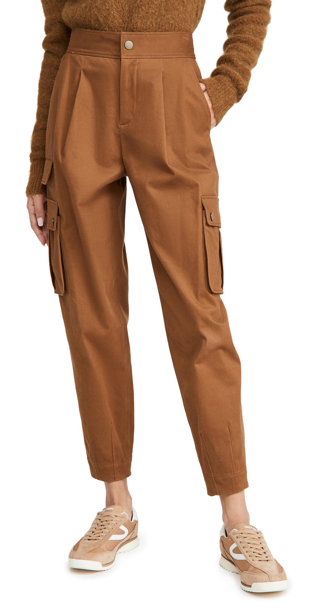 alice + olivia Clarkson Ankle Cargo Pants