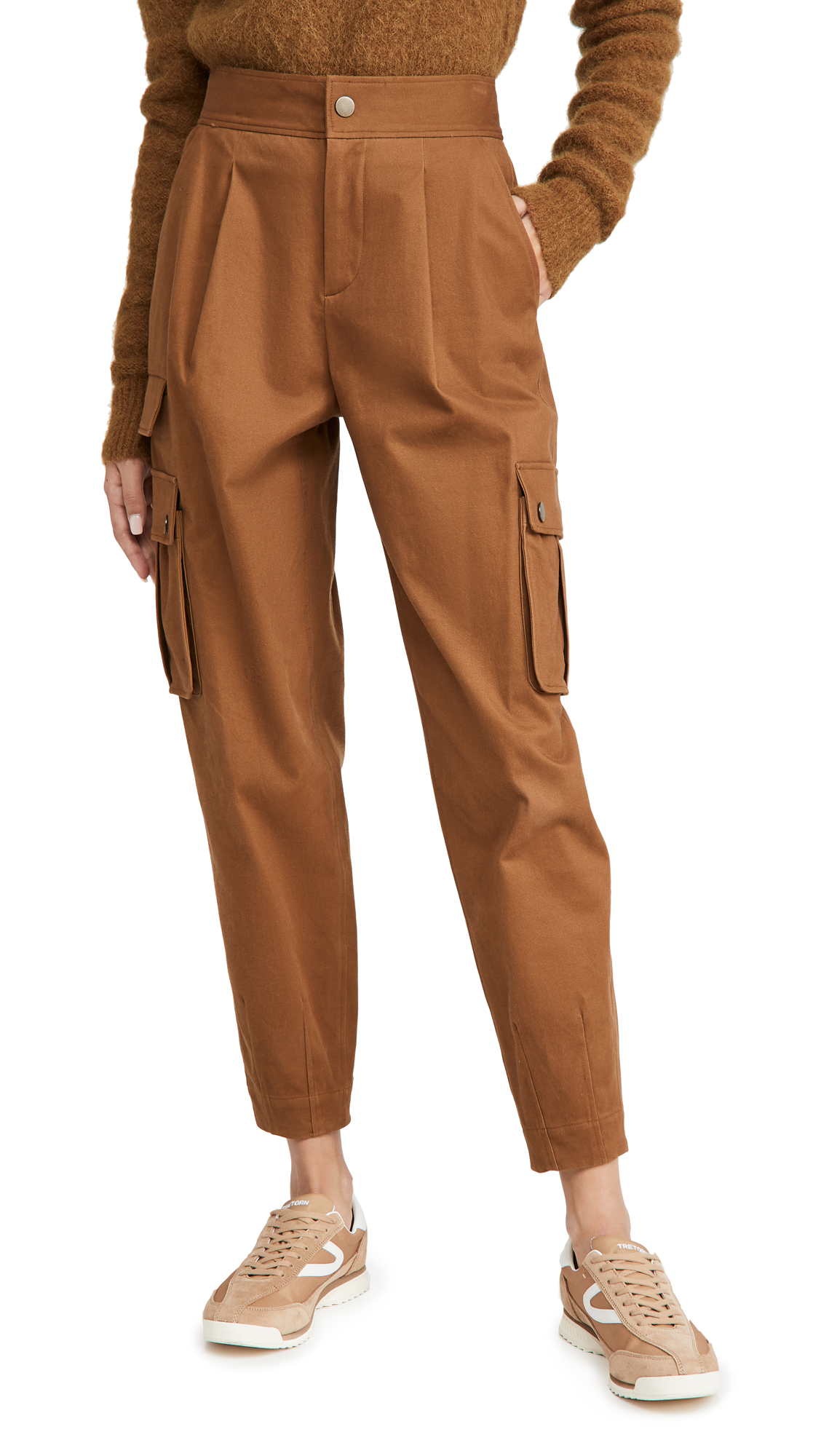 alice + olivia Clarkson Ankle Cargo Pants