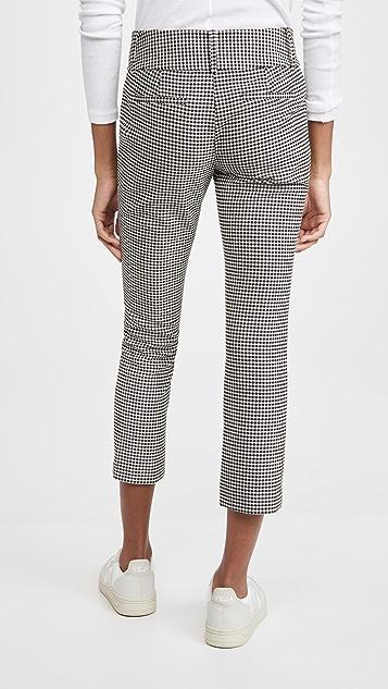 alice + olivia Stacey Slim Ankle Pants
