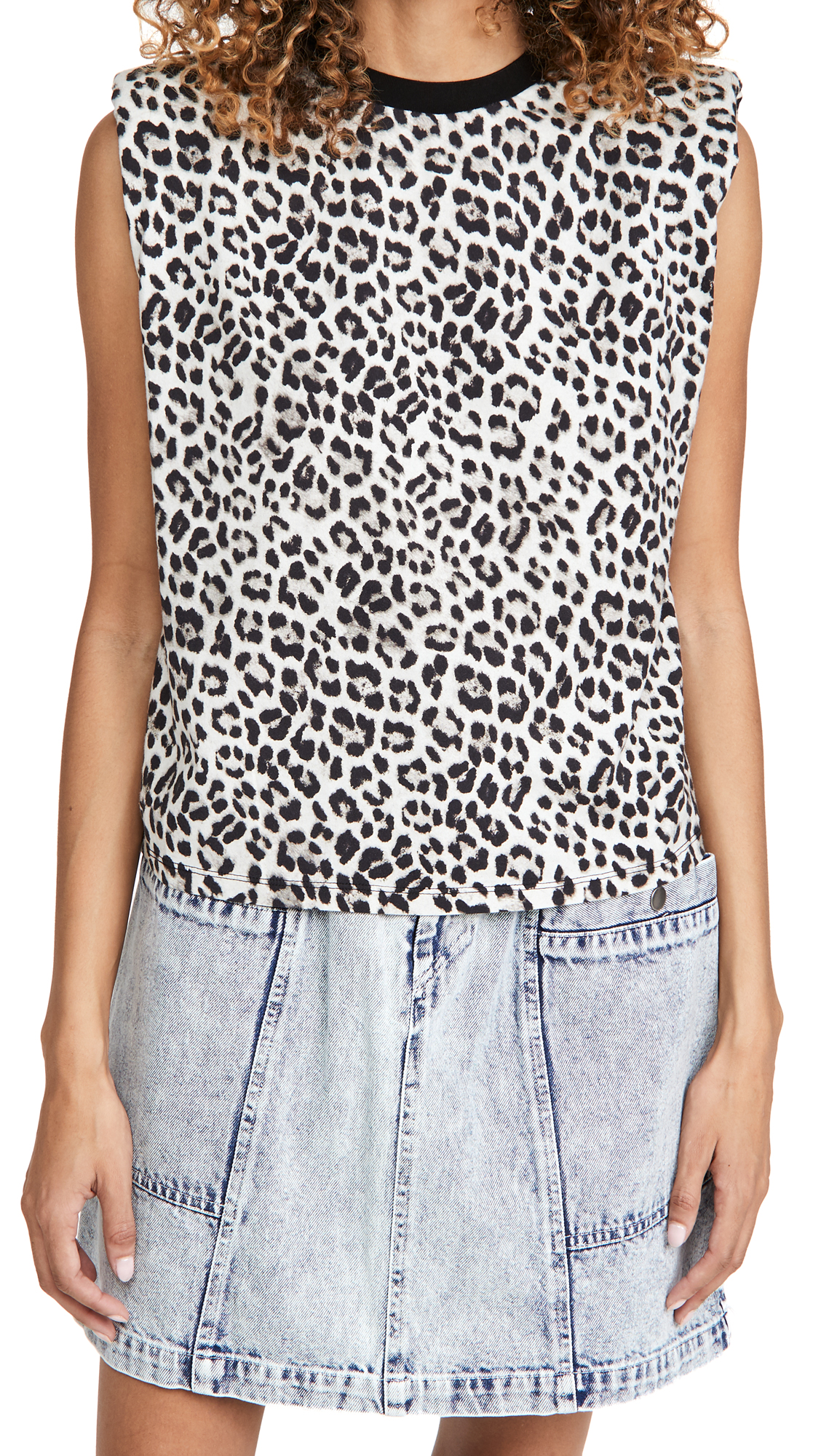 alice + olivia Braxton Sleeveless Tee