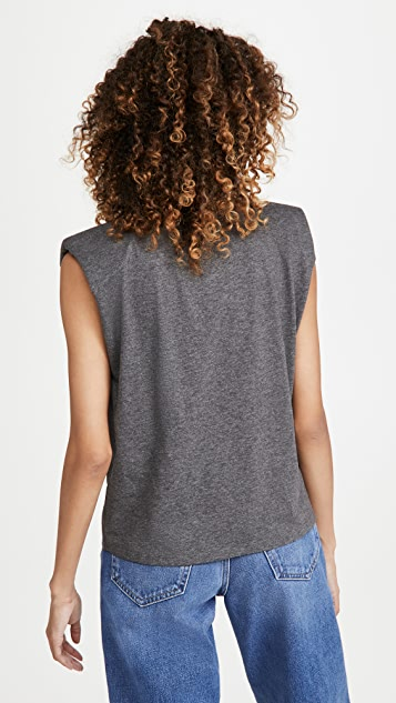 alice + olivia Braxton 无袖 T 恤