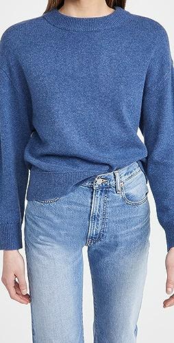 alice + olivia - Denver 弧形下摆开司米羊绒毛衣