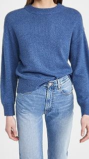 alice + olivia Denver 弧形下摆开司米羊绒毛衣