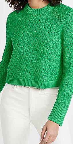 alice + olivia - Leta Textured Pullover