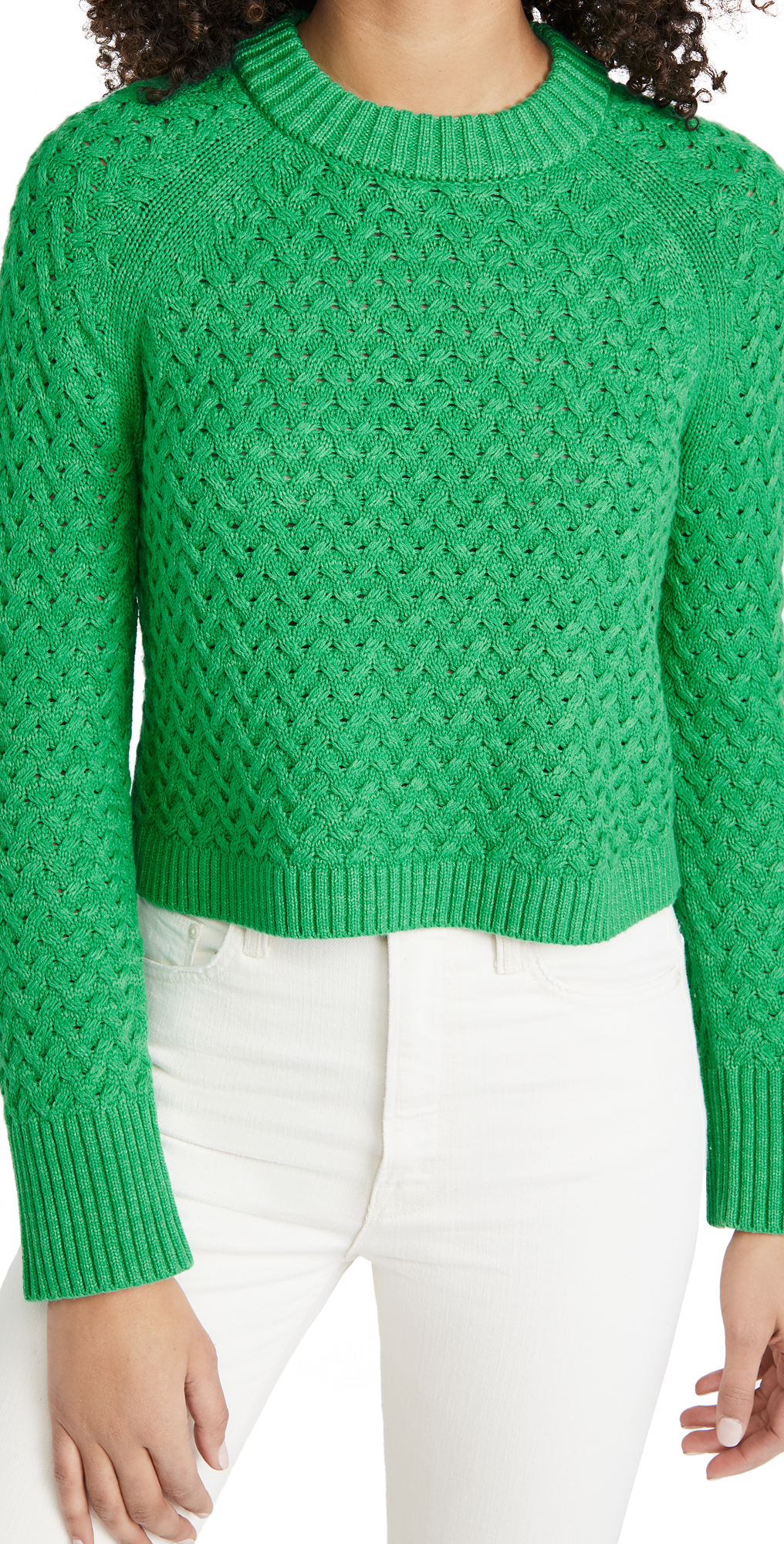 alice + olivia Leta Textured Pullover