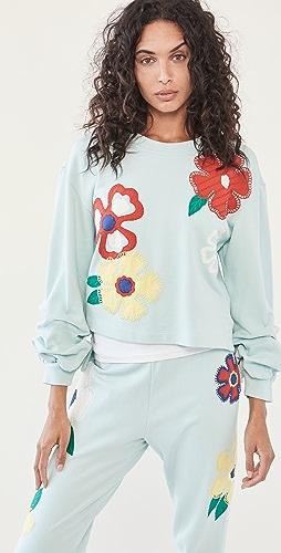 alice + olivia - Gaia 刺绣运动衫