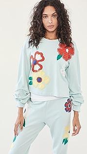alice + olivia Gaia 刺绣运动衫