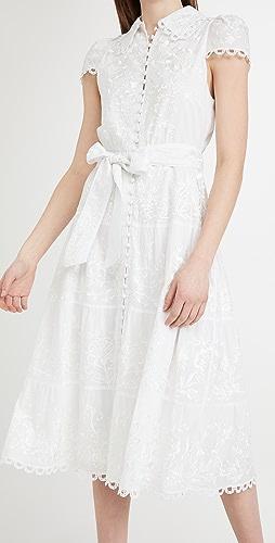 alice + olivia - Vannessa Midi Dress