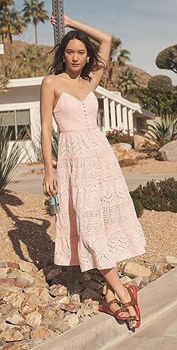 alice + olivia - Shanti Tiered Dress