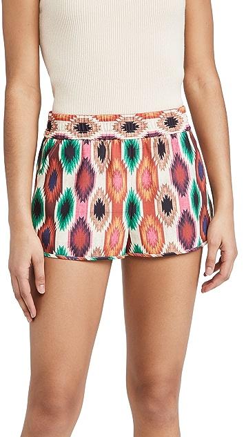 alice + olivia Kir Running Shorts