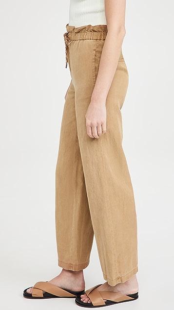 alice + olivia Henry 绑带纸包长裤
