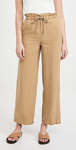 alice + olivia - Henry 绑带纸包长裤