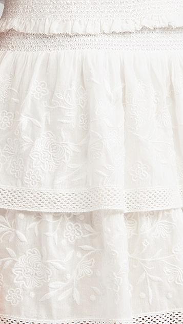 alice + olivia Jojo Ruffle Miniskirt