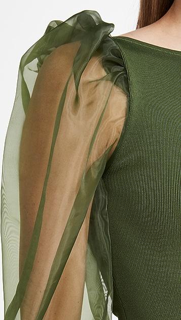 alice + olivia Abella 泡泡袖毛衣