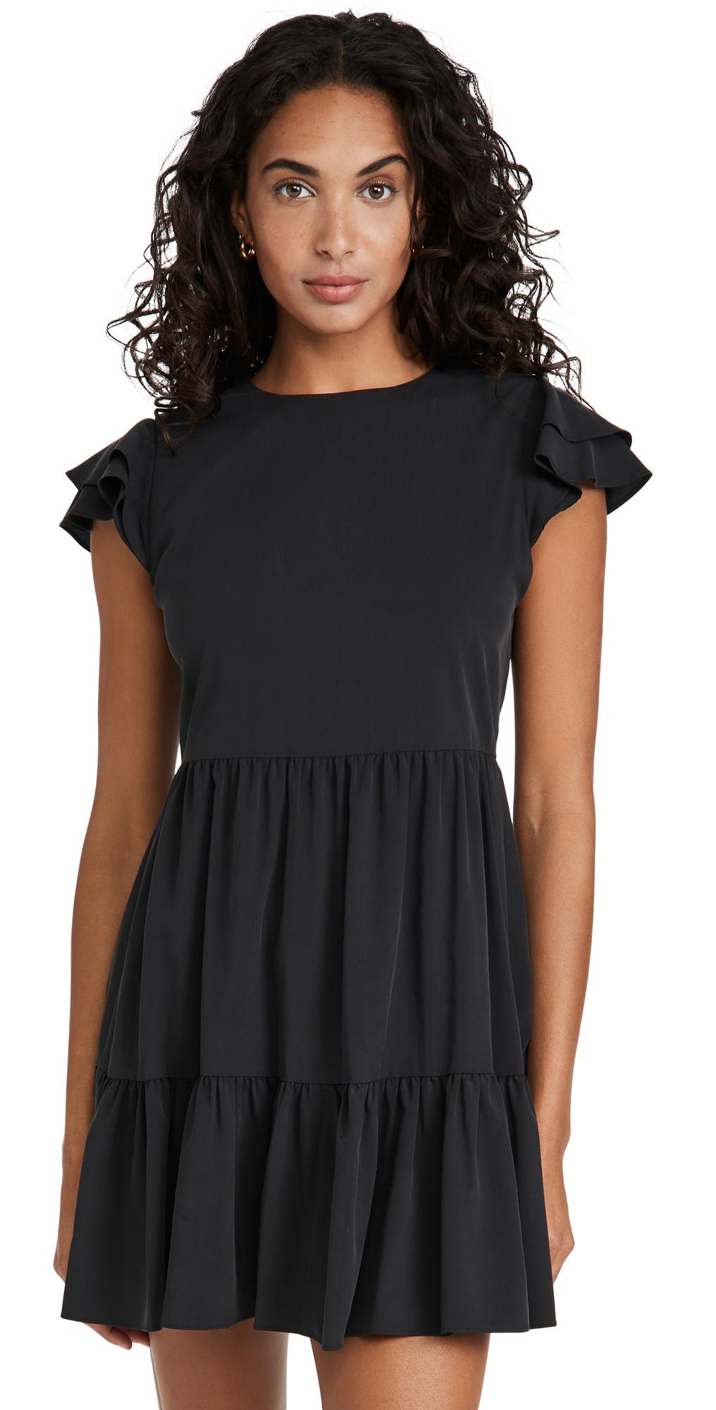 alice + olivia Demi Babydoll Dress