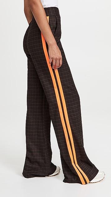 alice + olivia Dylan High Waist Wide Leg Pants
