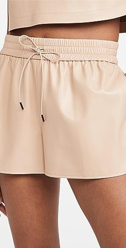 alice + olivia - Ludlow Vegan 短裤