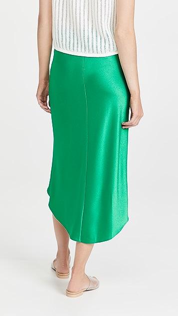 alice + olivia Maeve 高低不对称衬裙半身裙