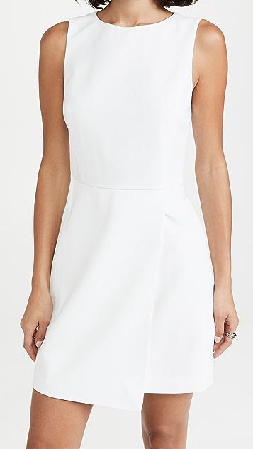 alice + olivia Duncan Sleeveless Tab Dress