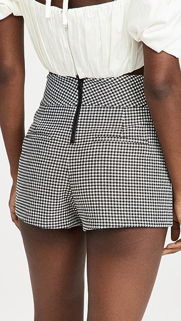 alice + olivia Donald 高腰短裤