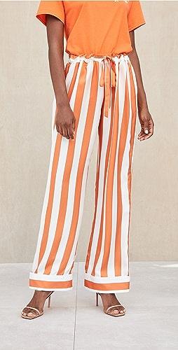 Aliette - Chateau Silk Pants