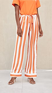 Aliette Chateau Silk Pants