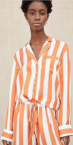 Aliette - Chateau Silk Long Sleeve Shirt