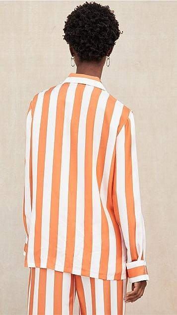 Aliette Chateau Silk Long Sleeve Shirt