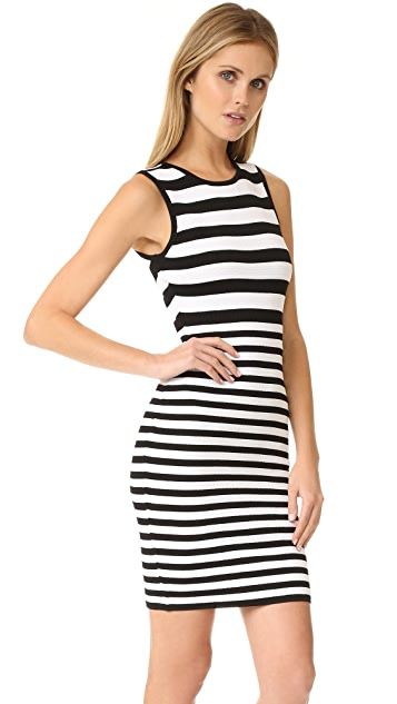 Ali & Jay Textured Stripe Dress